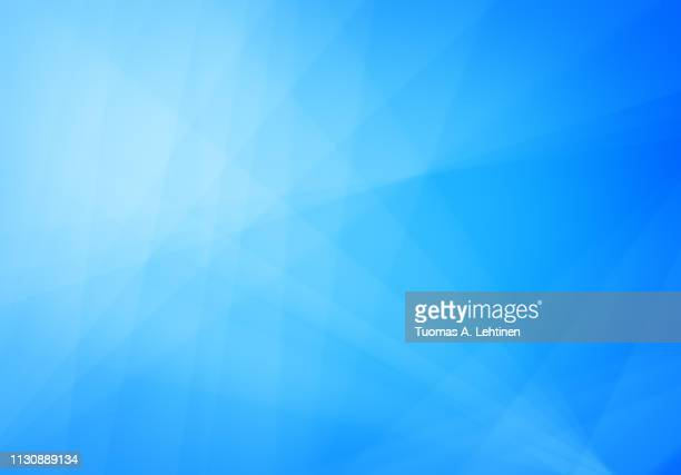 abstract blue background with transparent lines - 軽い ストックフォトと画像