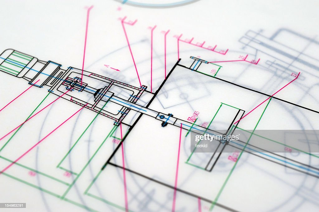 Abstract blueprint draftingtechnical drawing paperwork printout abstract blueprint drafting technical drawing paperwork printout stock photo malvernweather Image collections
