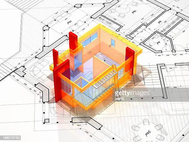 Abstrait architectural