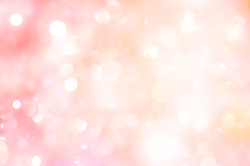 abstract blur beautiful pink color background with bokeh light party for merry christmas, happy new year celebrate and valentines day concept 1075343832