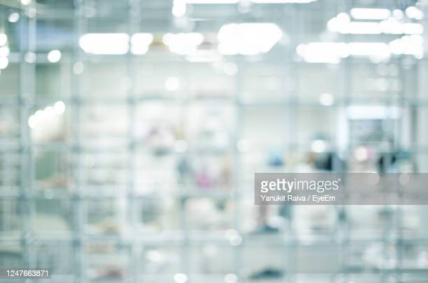 abstract blur of science lab for background - 実験室 ストックフォトと画像