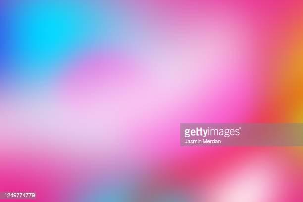 abstract blurred colorful background gradient - biegung stock-fotos und bilder