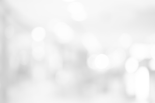 abstract blurred white color background with bokeh light for design concept 1059959980