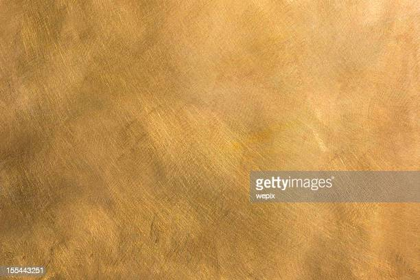 abstract brass metal plate structured background xxl - gold colored stock photos and pictures