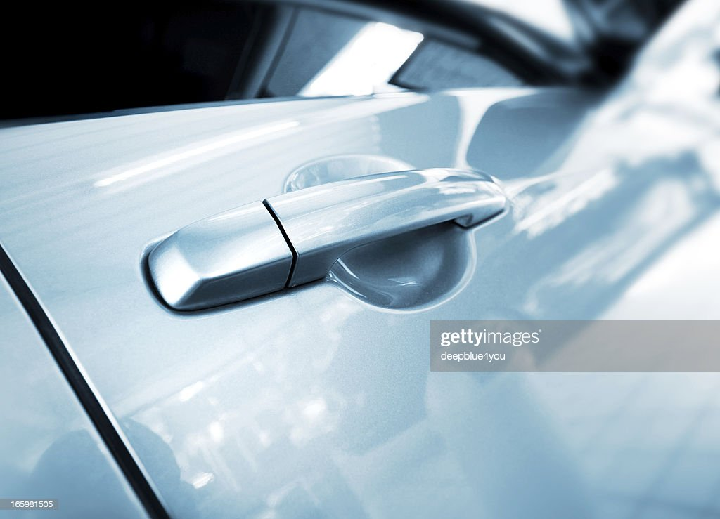 abstract car handle : Stock Photo