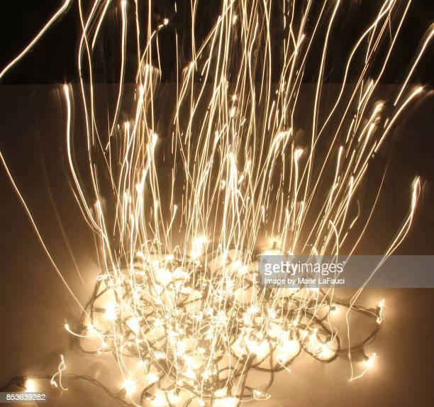 Abstract Christmas lights