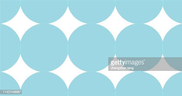 abstract circle pattern - event icon set stock photos and pictures