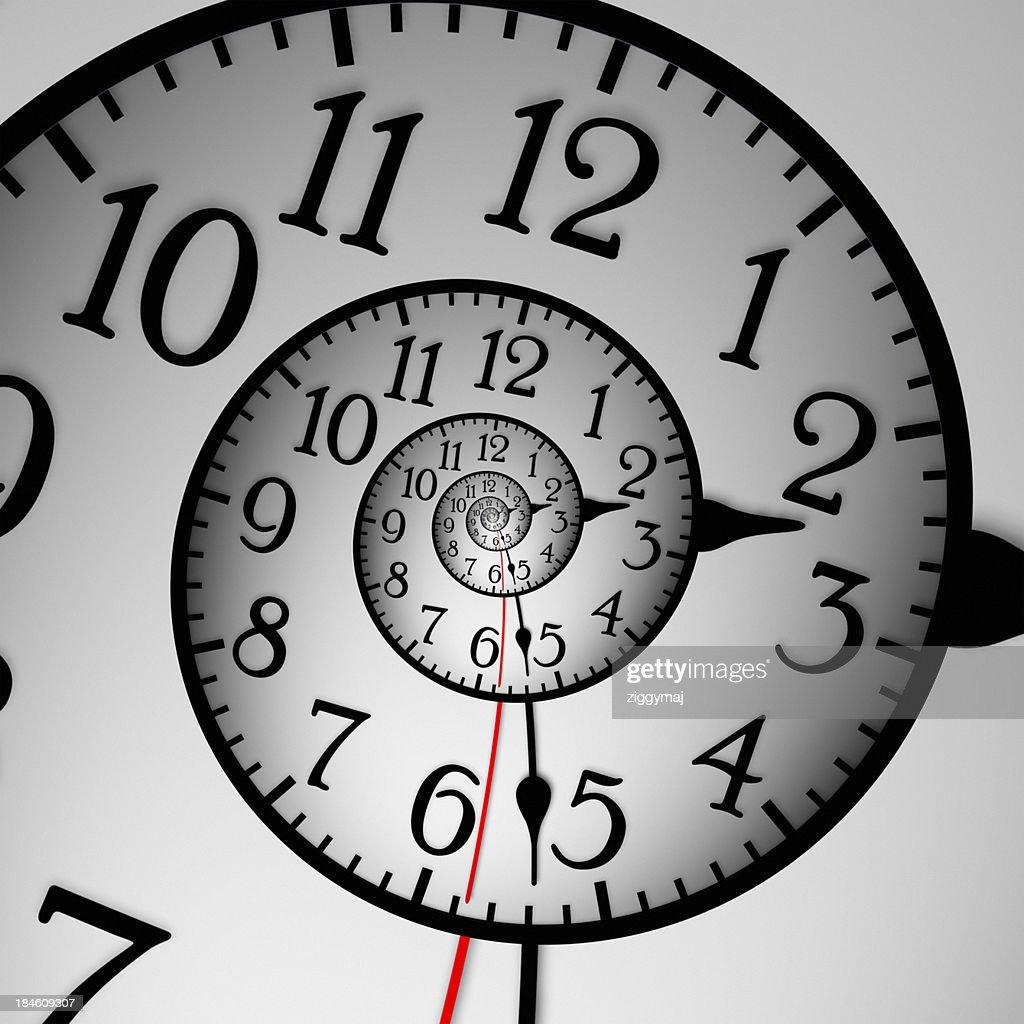 Abstract Clock : Stock Photo