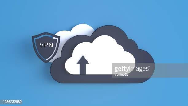 abstracte cloud computing digitale achtergrond - vpn stockfoto's en -beelden