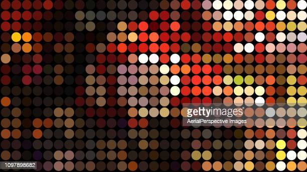 abstract color dots pattern - pixelated stock pictures, royalty-free photos & images