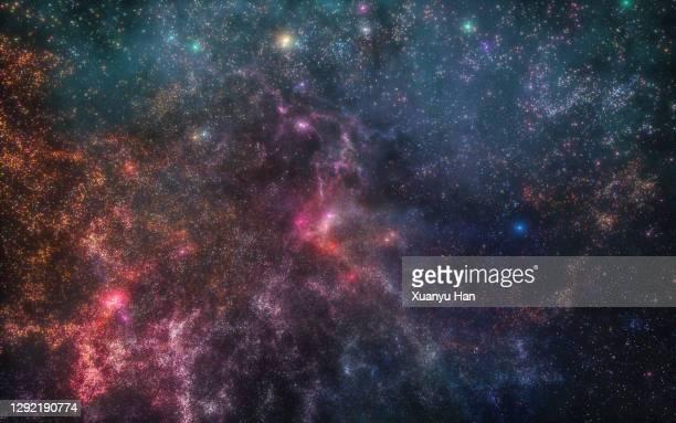 abstract colorful nebula - 宇宙 ストックフォトと画像
