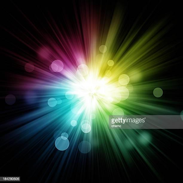 Abstrait couleur éclatant
