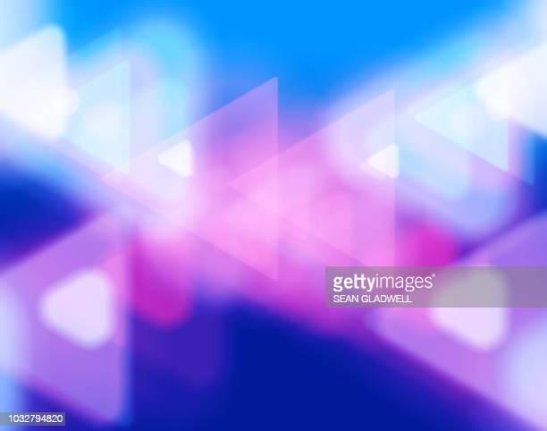 abstract colourful blur backdrop - zweidimensionale form stock-fotos und bilder