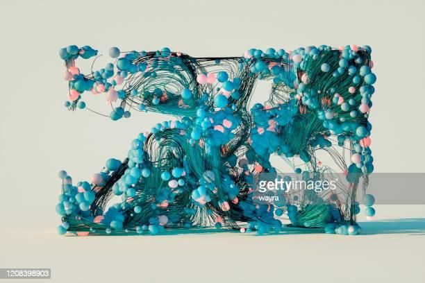 abstrakte komposition des designobjekts - reinheit stock-fotos und bilder