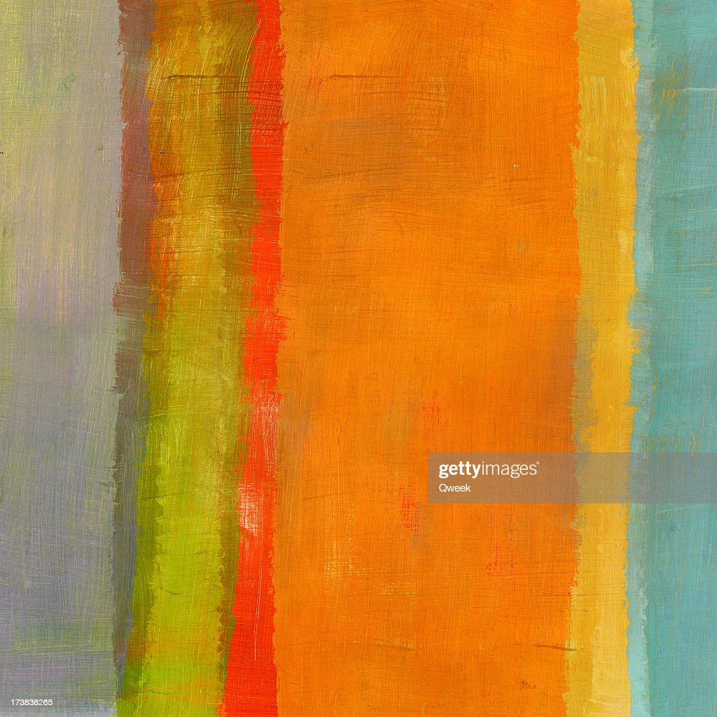 Abstract Composition with Orange Stripe : Stock Photo