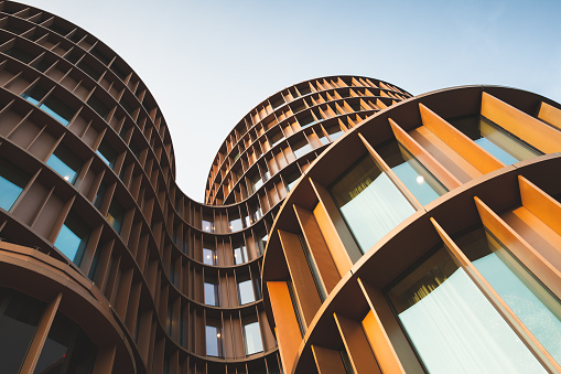 Abstract contemporary architecture photo 904390980
