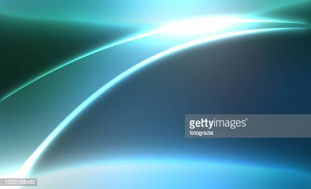abstract curves background - 発光性 ストックフォトと画像