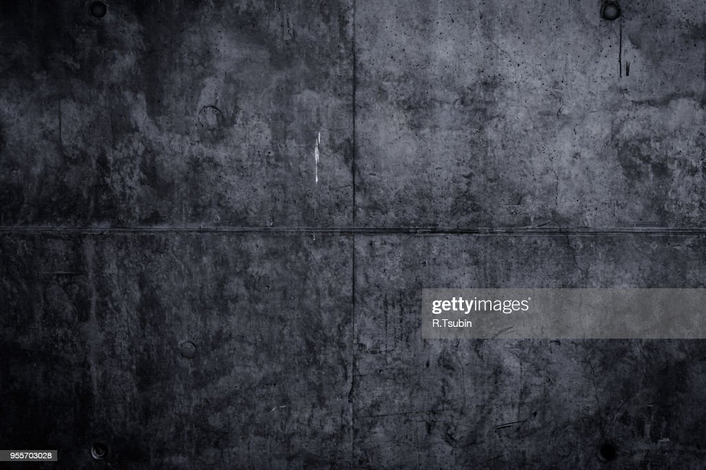 Abstract Dark Grunge Concrete Texture For Background Stock