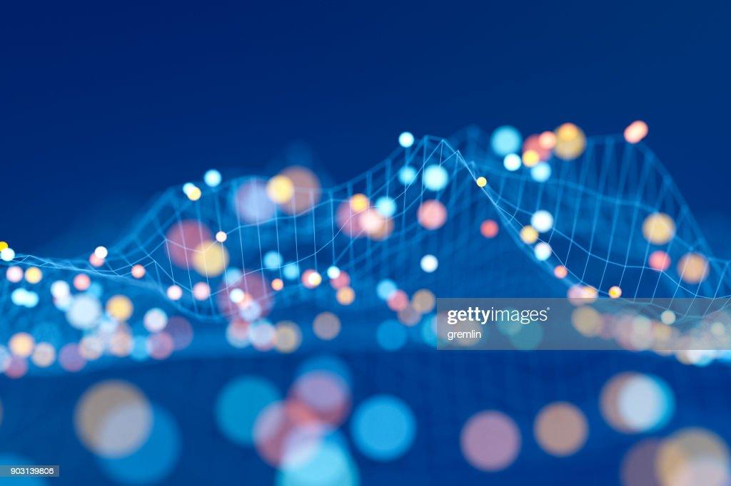 Abstract data representation : Stock Photo