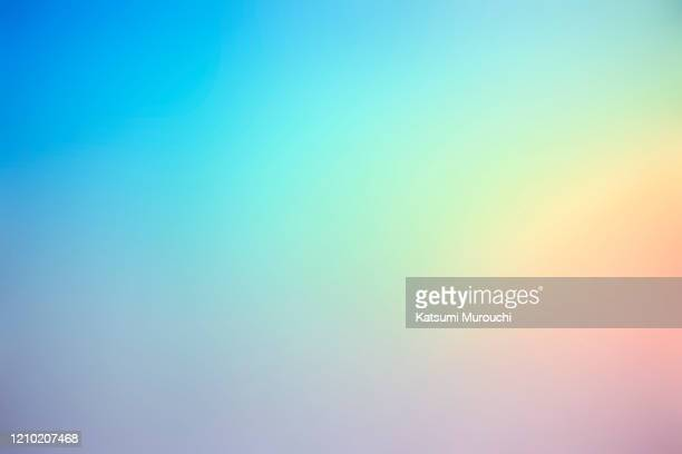 abstract defocus gradient color background - multi coloured stock pictures, royalty-free photos & images