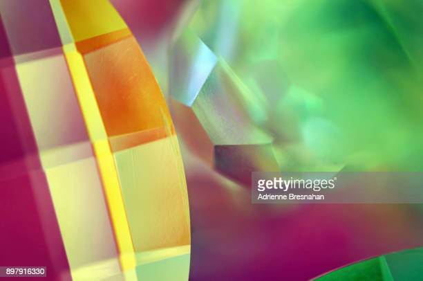 Abstract Design of Colorful Prisms