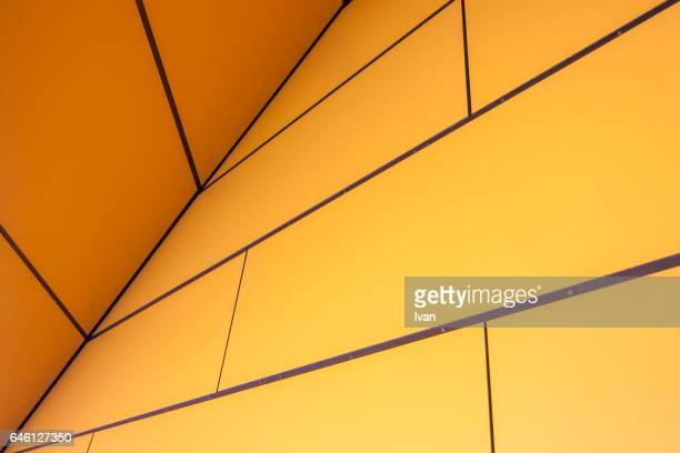Abstract Diagonal Line with Yellow Background