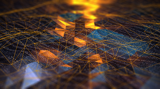 Abstract Digital network communication 1149365028