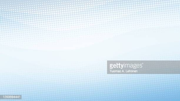 abstract dotted light blue background with sheer waves. - light blue stock pictures, royalty-free photos & images