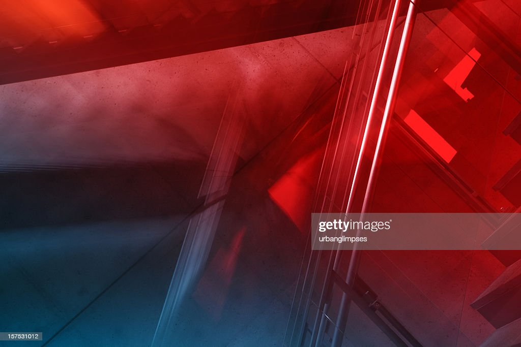 Abstract Dynamic Architecture : Stock Photo