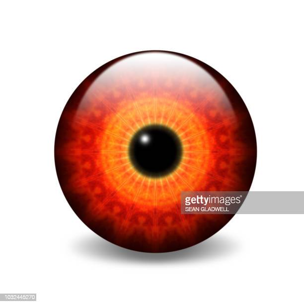 Abstract eye illustration