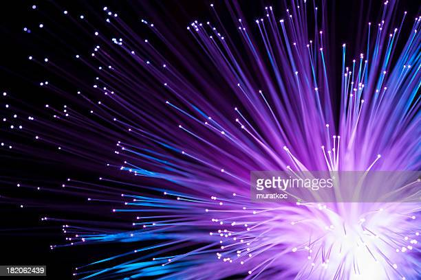 abstract fiber optics - data stream stock photos and pictures