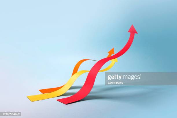 abstract finance or business moving chart still life. - curve stock pictures, royalty-free photos & images