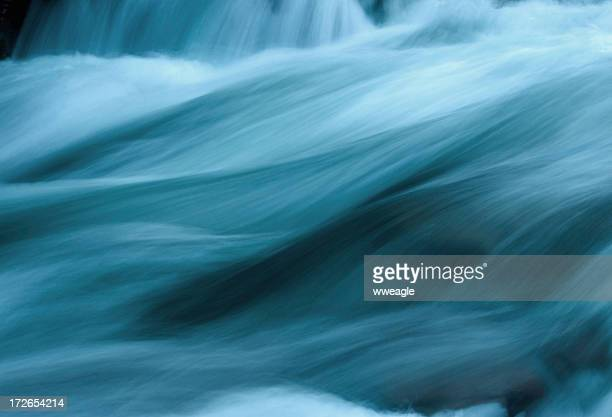 Abstract Flowing Water
