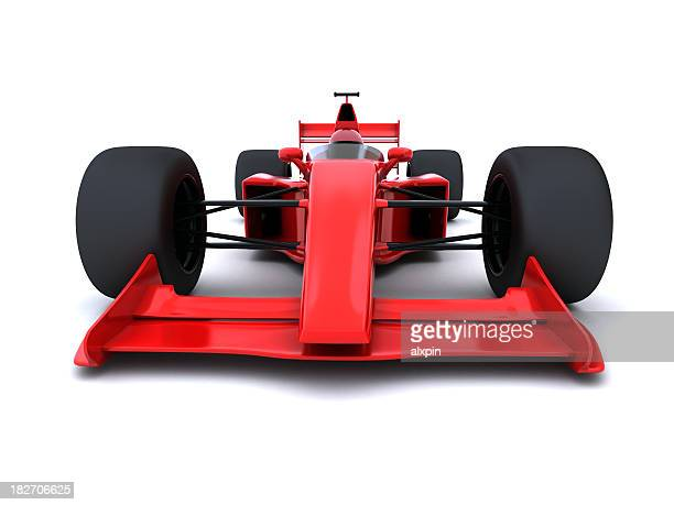 Abstract Formula One Car