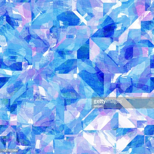 abstract geometric polygon background - diamond gemstone stock pictures, royalty-free photos & images