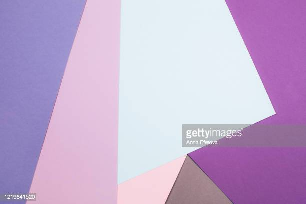 abstract geometric wallpaper - rose colored stock pictures, royalty-free photos & images
