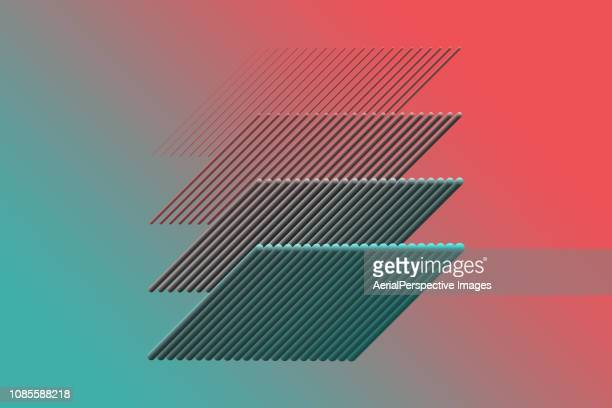 abstract geometrical background - farbquadrat stock-fotos und bilder