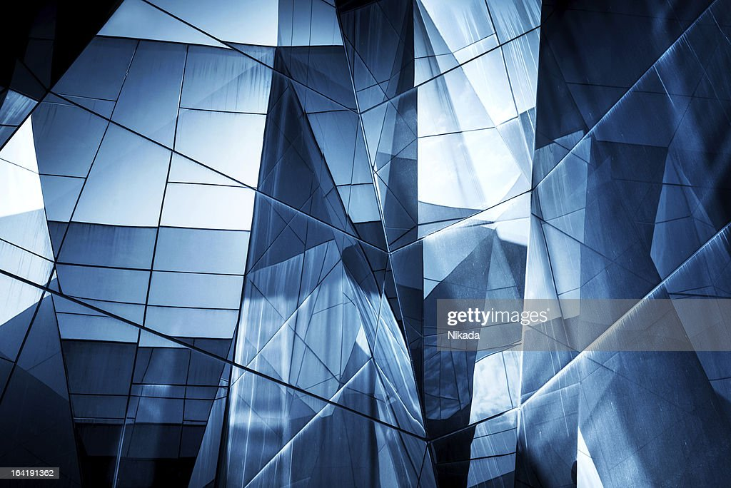 Abstract Glass Architecture : Stock Photo