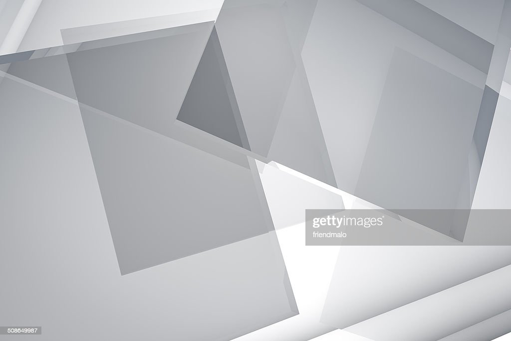 3D Abstract glass Background : Stock Photo