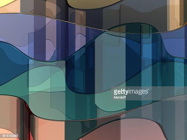 Abstrakte Glas Hintergrund