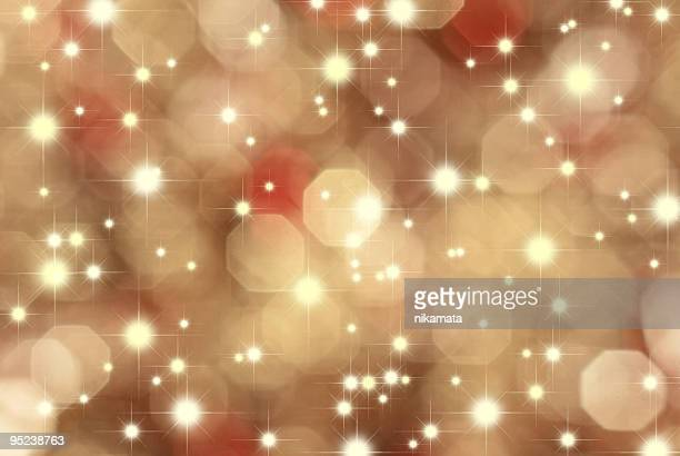 Abstrakt gold Hintergrund holiday lights