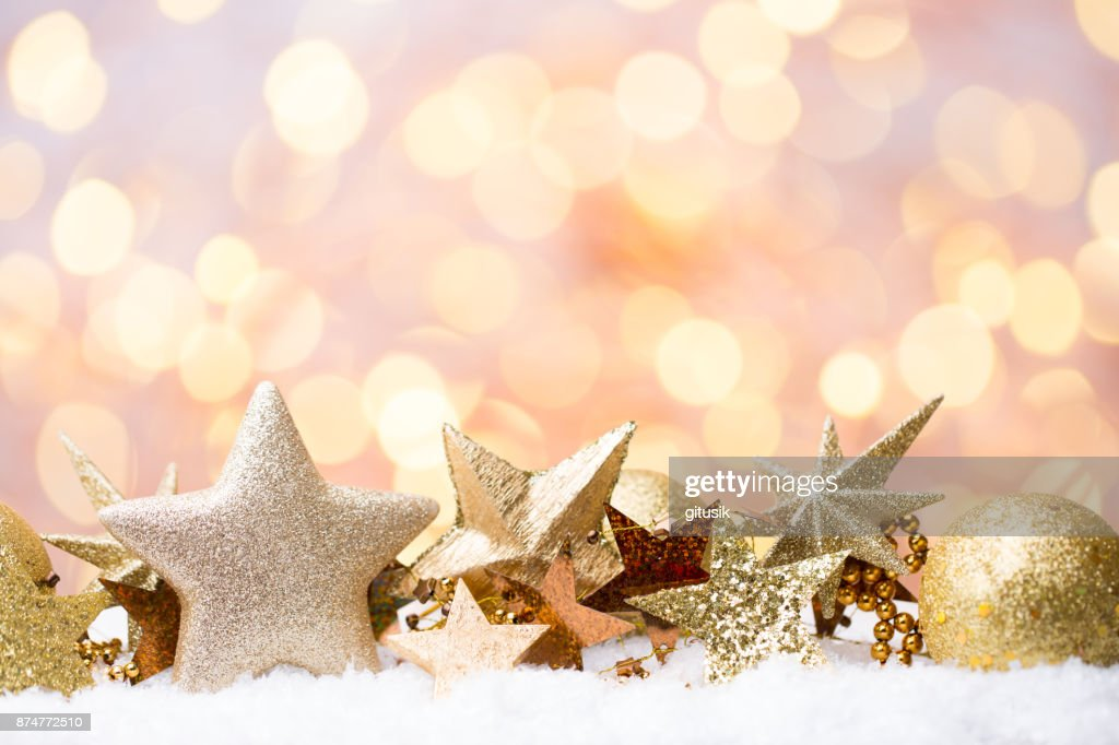christmas and new year theme background stock photo