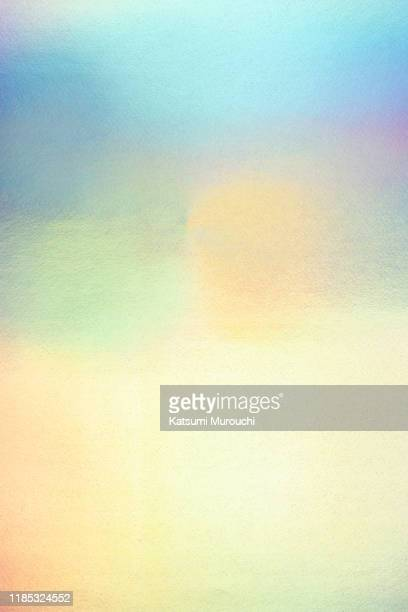 abstract gradient hologram background - メタリック ストックフォトと画像