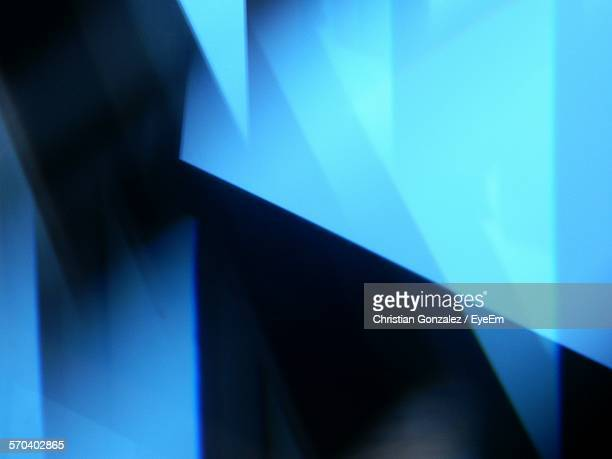 Abstract Image Of Blue Background