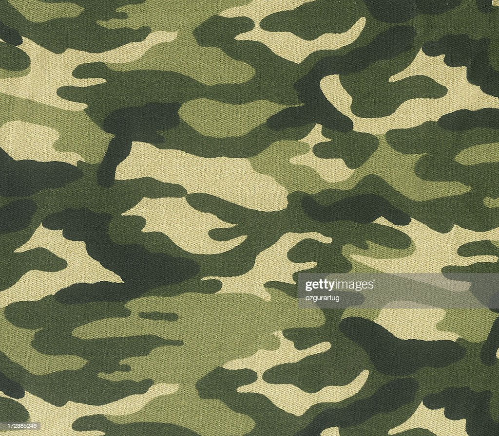 Abstract image of green camouflage : Stock Photo