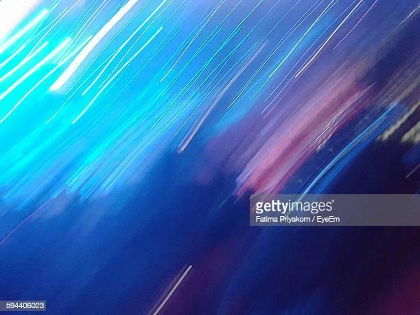 Abstract Image Of Light Trail