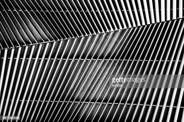 abstract interior pattern on wall. abstract texture background. - sheet metal stock pictures, royalty-free photos & images