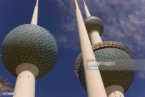 Abstract Kuwait Towers
