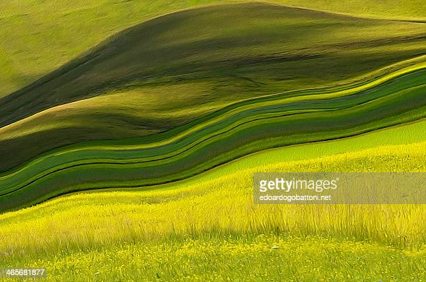 abstract landscape - edoardogobattoni fotografías e imágenes de stock