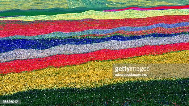 abstract landscape - edoardogobattoni stock pictures, royalty-free photos & images